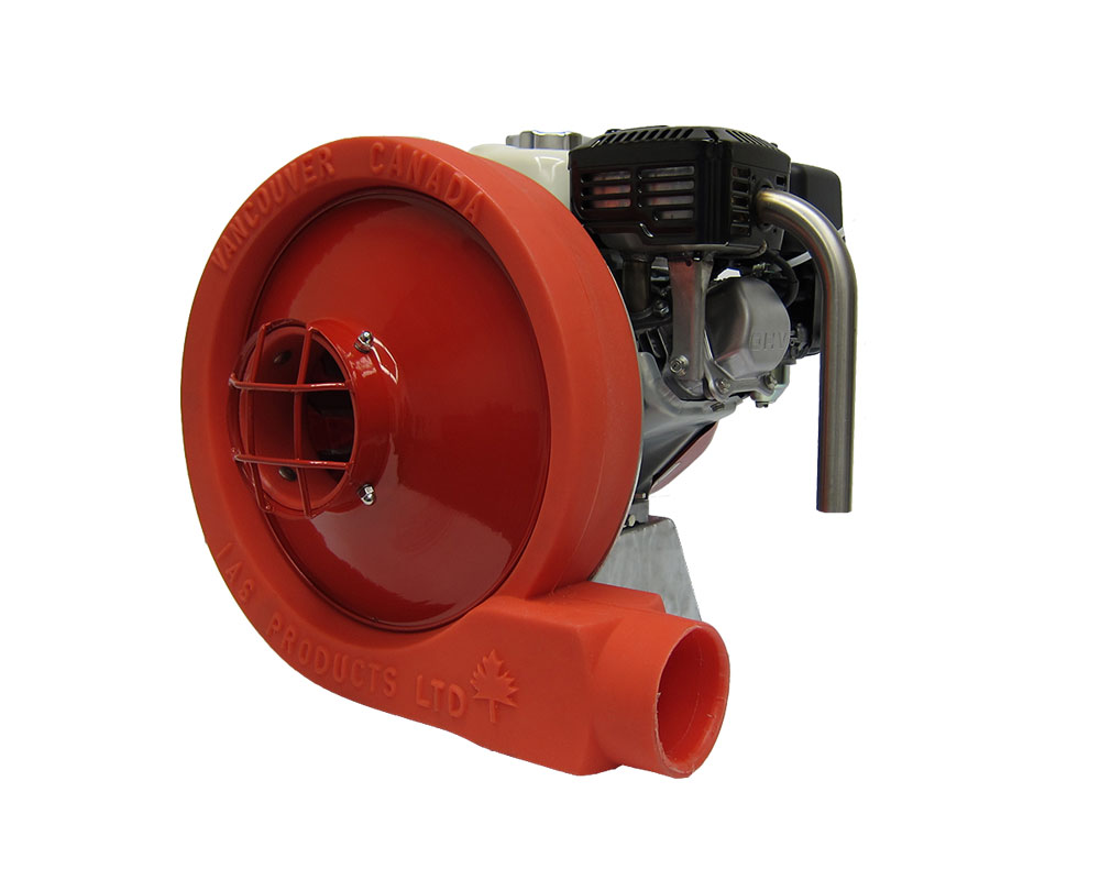 compact direct drive blower
