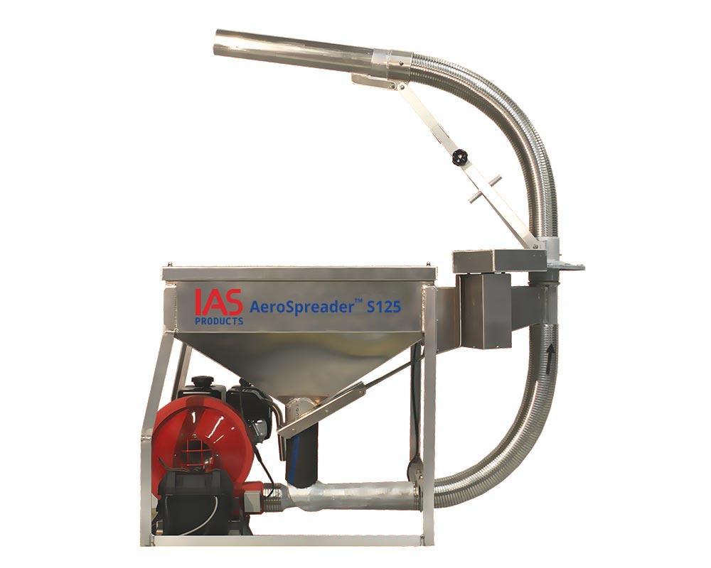AeroSpreader S125 fish farm feeder or shrimp feeder
