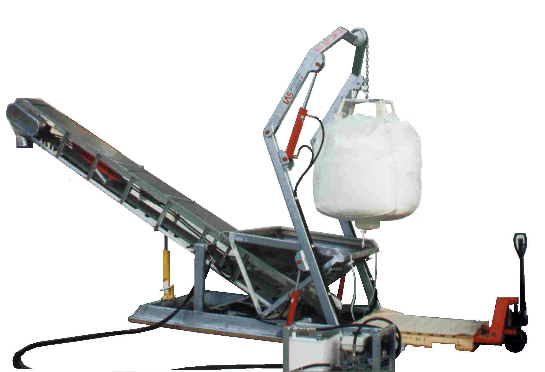 equipment to load bulk fish or shrimp feed