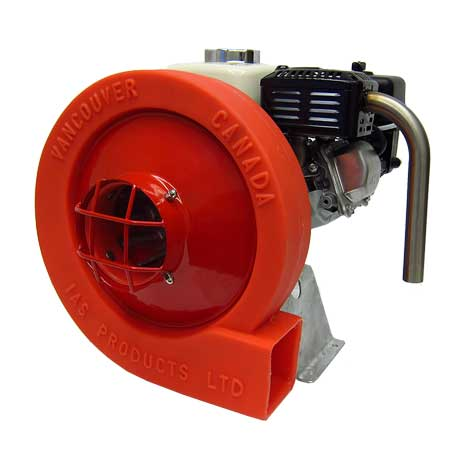 aquaculture feeder blower