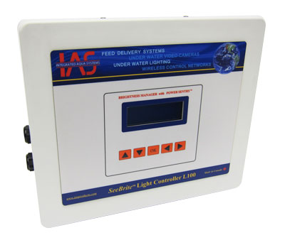 aquacultre light controller with polycarbonate enclosure