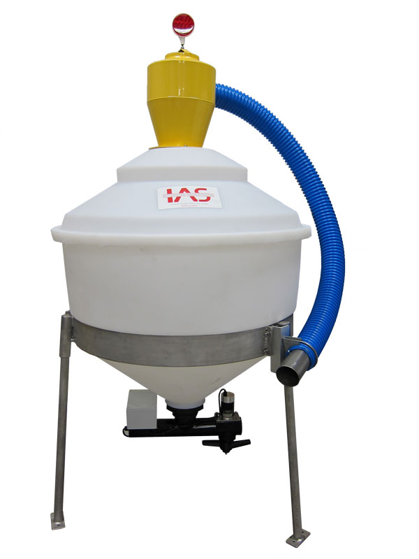 Aerite Feed Spinner with 250kg feed hopper for feeding shrimp or fish